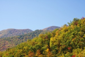 Blue Ridge Mountains in Autumn